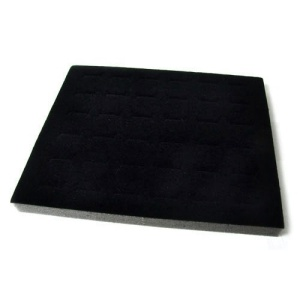 display 08 36pc ring pad black