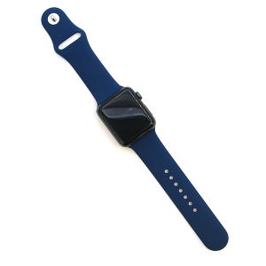 Watch Band 087 Fashion Watch Band rubber silicone 42mm 44mm navy blue