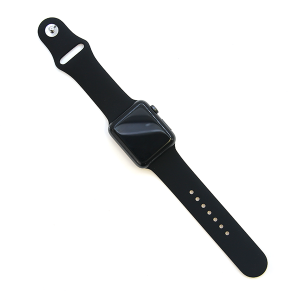 Watch Band 090 Fashion Watch Band rubber silicone 42mm 44mm black