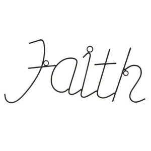 Home Decor Faith Wall Sign