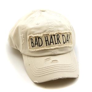 Cap 293b 30 KBEthos bad hair day hat beige