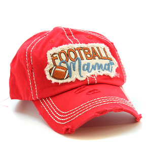 Cap 301 30 KBEthos football mama hat red