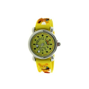 kids watch 885 2649 rubber pegasus yellow
