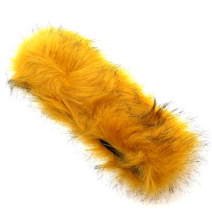 Headband 177a 27 Jennifer faux fur headband mustard