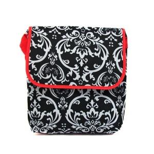 laptop bag pc ak 2010 floral damask red