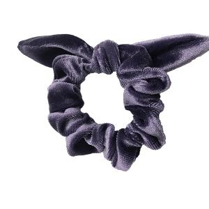 Hair Tie 785 30 stretch scrunchie hair tie ribbon purple