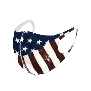 Face Mask 014a USA american flag