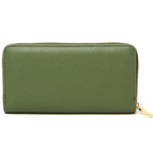 Simple Leather Wallet LOA225 Green
