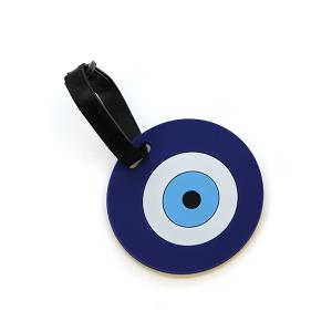 Luggage Tag 069 34 Circle Blue