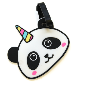 Luggage Tag 071 34 Panda Unicorn