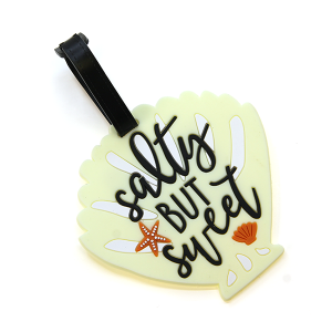 Luggage Tag 076 34 shell salty but sweet