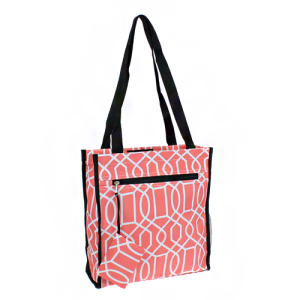 luggage 0313 book bag geometric coral