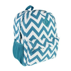 luggage 3016 CANVAS backpack chevron turquoise