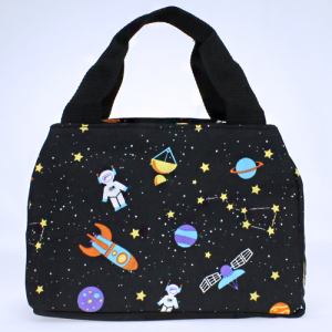 luggage 8010 lunch box outer space black multi