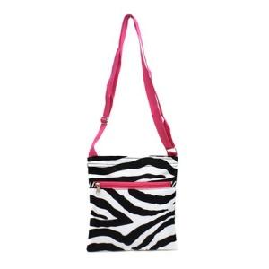luggage AK messenger bag S10 2007 P zebra pink trim