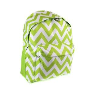 luggage ak backpack b 8 601 chevron light green