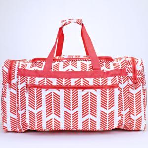 luggage D22 22 duffle bag arrow coral