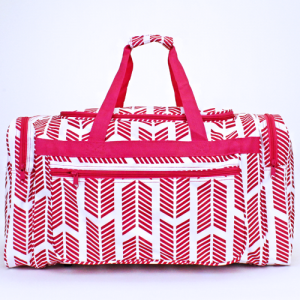 luggage ND22 22 duffle bag arrow fuchsia white