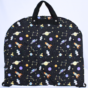 luggage garment bag outer space black multi