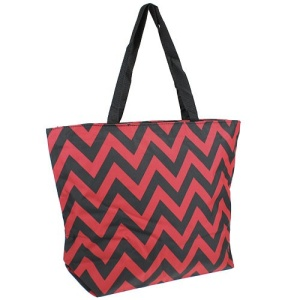 luggage p 18 601 tote bag chevron burgundy black