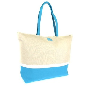 luggage st20 canvas tote bag blue
