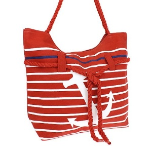 luggage st 18 r 706 tote anchor rope red