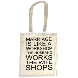 Eco Tote canvas Marriage Workshop