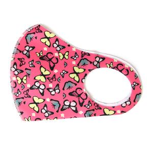 Face Mask 170 Butterflies pink