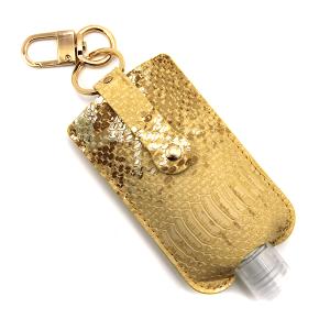 Hand Sanitizer Keychain 079 snake brown large