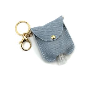 Hand Sanitizer Keychain 068 light denim