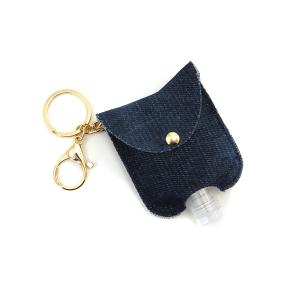 Hand Sanitizer Keychain 067 navy denim