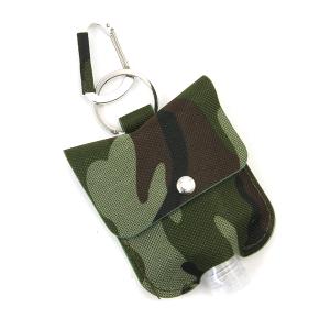 Hand Sanitizer Keychain 055 digi camo canvas green