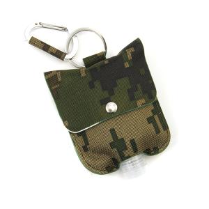 Hand Sanitizer Keychain 056 digi camo canvas olive