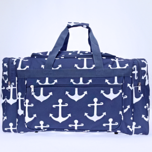luggage ND22 A simple anchor navy white