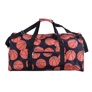 luggage AK NDN 32 round duffle bag basketball black