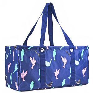luggage ak NU26 large trunk organizer bird navy blue