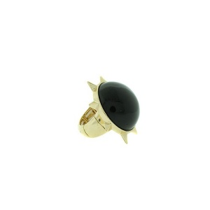 ring 1391b 65 sun stone black gold