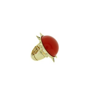 ring 1376a 65 sun stone red gold