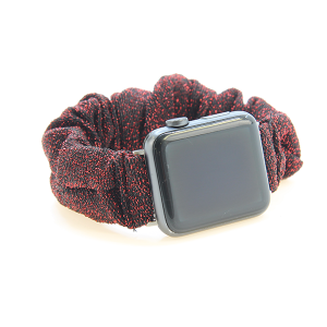 Watch Band 147 08 scrunchie watch band 38mm 40mm red