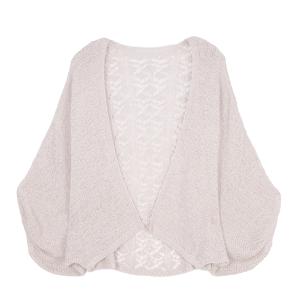 Shawl 415e 30 Crochet Cardigan ivory