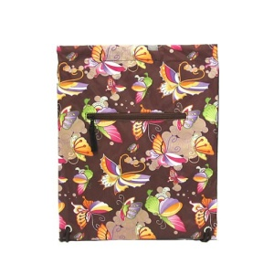 sling bag backpack b 6 106 butterfly multi color