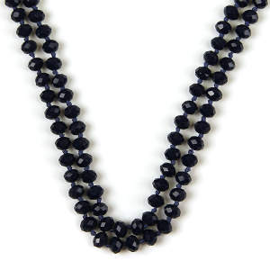 Necklace 796a 22 No. 3 30 60 inch bead necklace bl117