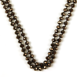 Necklace 730 22 No. 3 30 60 inch bead necklace bz212