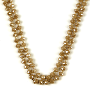 Necklace 697 22 No. 3 30 60 inch bead necklace nt305