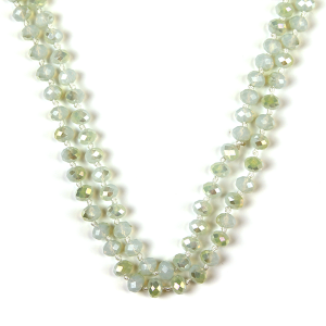 Necklace 1642a 22 No. 3 30 60 inch bead necklace nt325