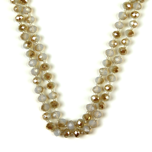Necklace 658 22 No. 3 30 60 inch bead necklace nt326