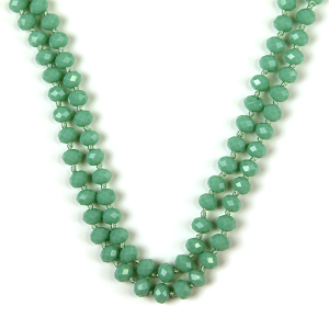 Necklace 786 22 No. 3 30 60 inch bead necklace tq165