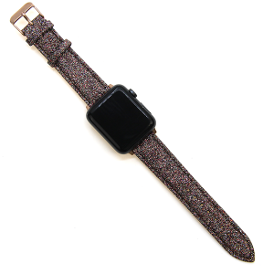 Watch Band 161 08 38mm 40mm multi-color sparkle