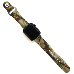 Watch Band 162 08 38mm 40mm camo woodlands