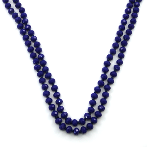 Necklace 774d 46 Encour 30 60 inch bead necklace royal blue 62